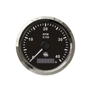 COMPTE-TOURS ÉLECTRONIQUE - 0-4000 RPM - NOIR