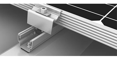 MultiRail-System toit incliné