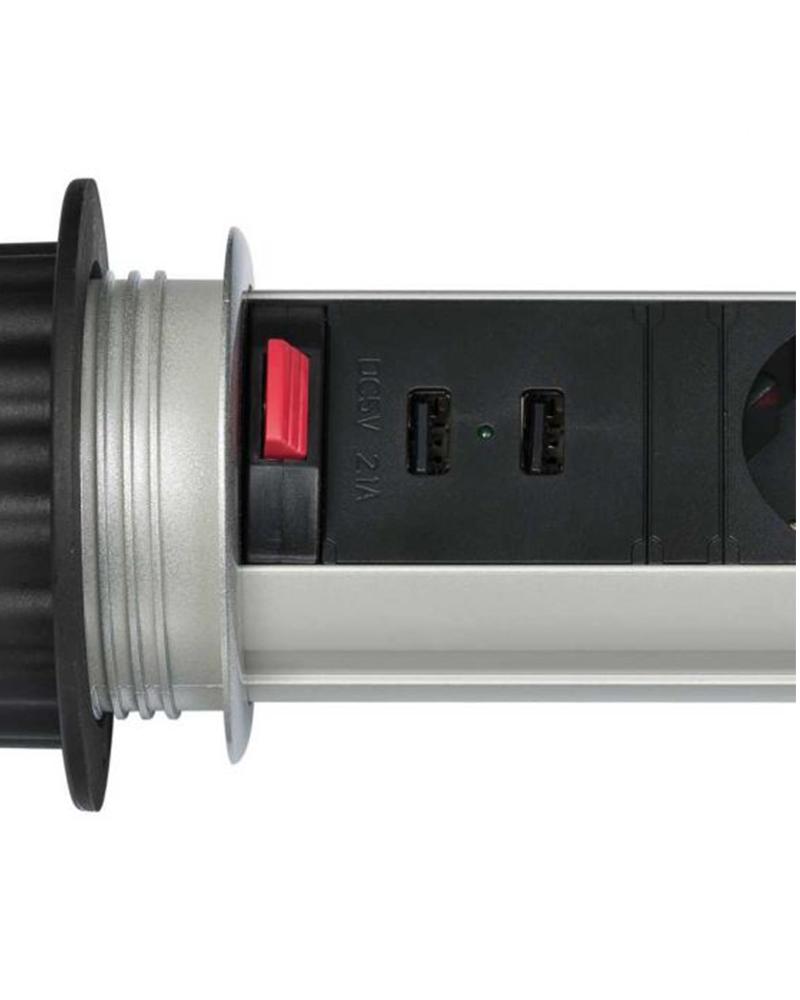 PROLONGATEUR TOWER-POWER 3 PRISES + 2 USB3