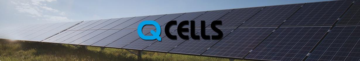 champs solaire panneaux Qcells