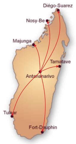 Carte Madagascar Livraison