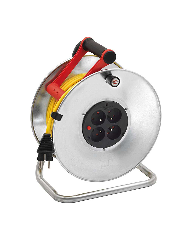 ENROULEUR DE CABLE - SILVER BRICO 330 - 33M - 3G1,5 - IP20