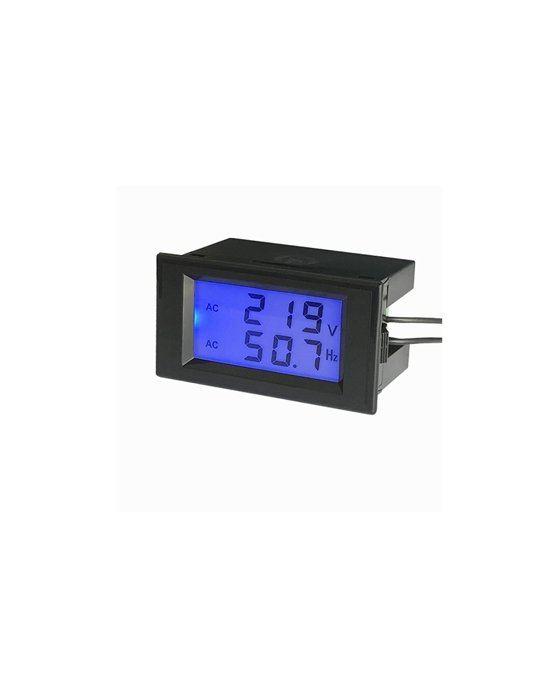 AFFICHEUR LCD - TENSION FREQUENCE