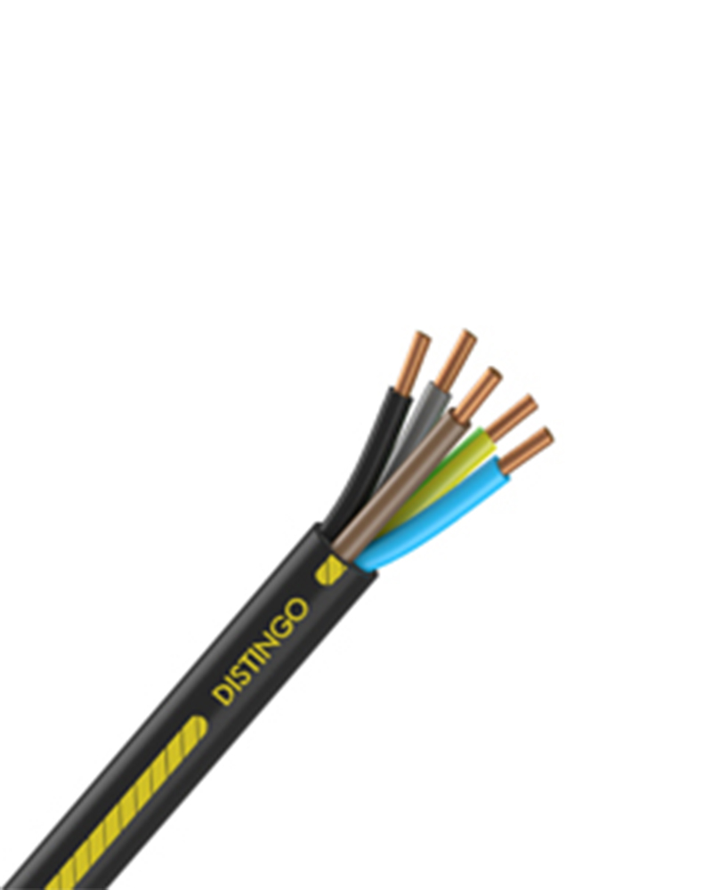 CABLE RIGIDE - U-1000 R2V DISTINGO - 5G2.5mm²