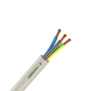 CABLE SOUPLE - H05VV-F - 3G1.5mm² Blanc