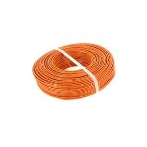 FIL ISOLE RIGIDE - H07V-U - Orange