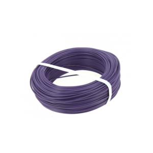 FIL ISOLE RIGIDE - H07V-U - Violet