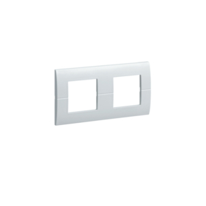 PLAQUE 2X2 MODULES HORIZONTALE SYSTO - HAGER
