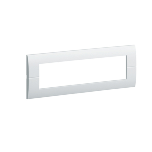PLAQUE 6 MODULES HORIZONTALE SYSTO - HAGER