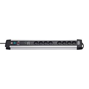 Prolongateur multiprise Premium Protect-Line Alu avec parasurtenseur 60.000 A