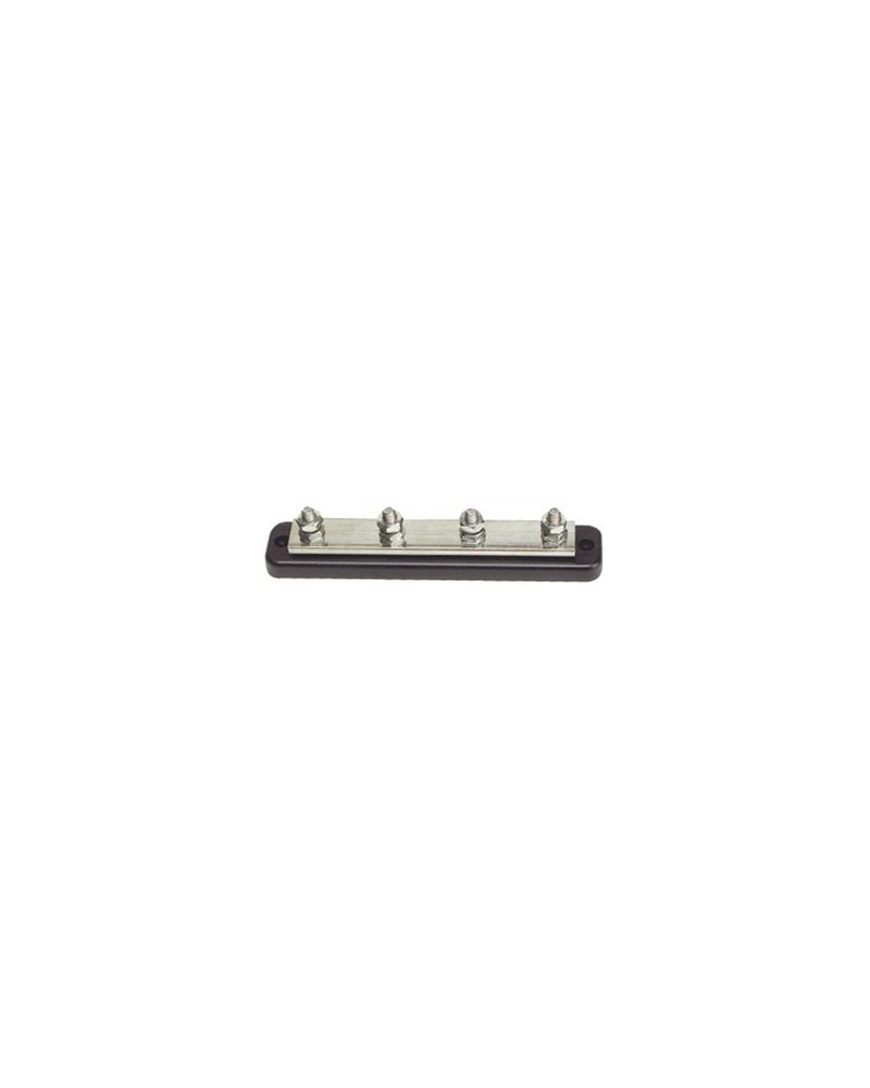BARRETTE BUS BAR - PUISS 4x8 MM - 250A - BASE 153x38 MM