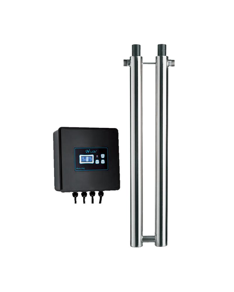 DÉBACTERISATEUR UV DOMESTIQUE - UV 2X40 450 LCD