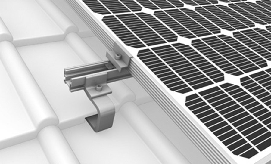 SYSTEME STRUCTURE PV - CROSSRAIL - TUILES