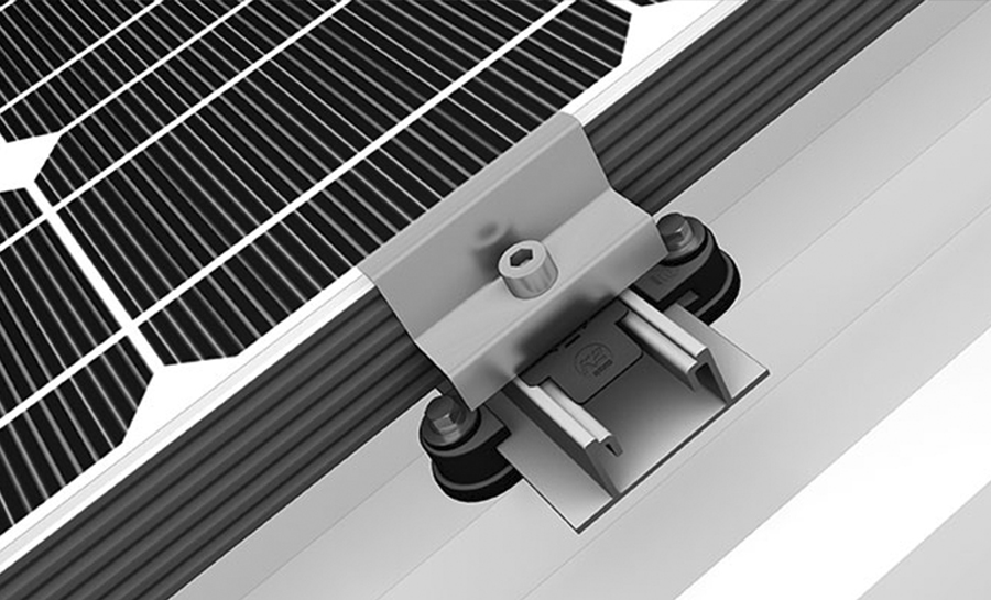 SYSTEME STRUCTURE PV - SPEEDRAIL