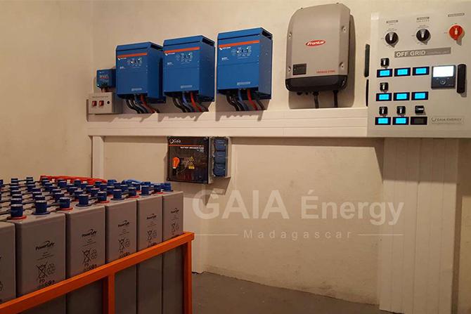 Système d'électrification solaire autonome hors réseau by GAIA